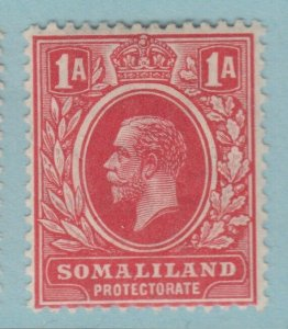 SOMALILAND 52a scarlet  MINT  HINGED OG *  NO FAULTS VERY FINE! 1912 - 1919
