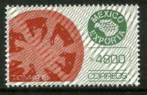 MEXICO Exporta 1768 $4800P Tomatoes w/Burelage Paper 13 MNH. VF.