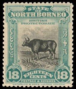 North Borneo Scott 136-149 Gibbons 158-177 Mint Set of Stamps