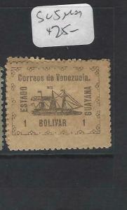 VENEZUELA GUYANA    (PP2203B)  SC 5   NO SEAL    BOAT     MOG