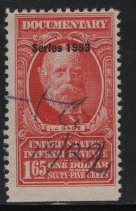 US, R635, USED, 1953 SERIES