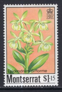 Montserrat 555 Flowers MNH VF