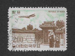 Korea Scott # C25 Air Mail F-VF Used ,scv $12 ,see pic !