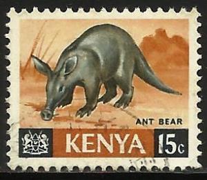 Kenya 1966 Scott# 22 Used