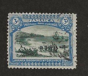 JAMAICA SC# 80  F/U