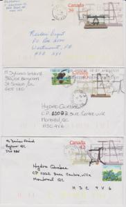 CANADA POSTAGE STATIONERY STAMPS USED LOT#PC2