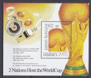2001 Dominica 3248/B446 2002 World championship on football Japan and Korea 6,00