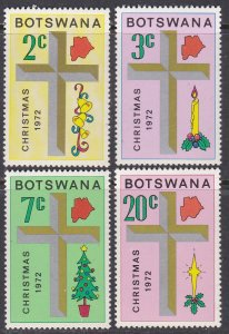 Botswana Sc #92-95 MNH