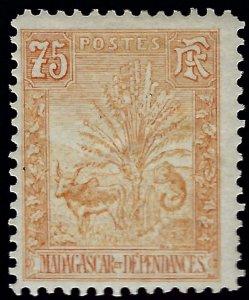Malagasy/Madagascar Sc #74 Mint F-VF..Fill an important spot!