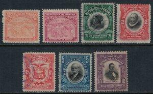 Panama #195-201*/u  CV $4.20  (#195 no gum)