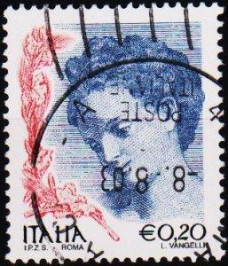 Italy. 2002 20c .G.2710 Fine Used