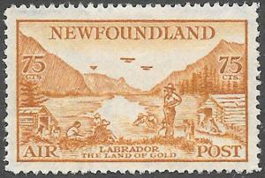 Newfoundland Airmail Stamp Scott Number C17 VF H