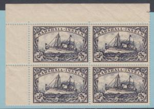 MARSHALL ISLANDS 24 BLOCK OF 4 MINT NEVER HINGED OG MNH NO FAULTS SUPERB
