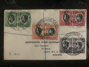 1937 South West Africa King George VI Coronation FDC First Day Cover KGVI