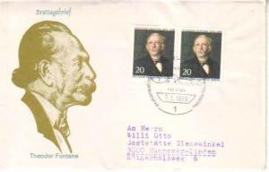 Germany Berlin, First Day Cover