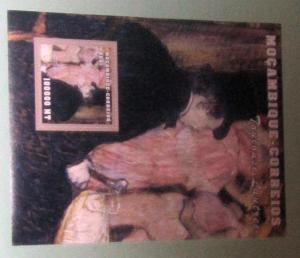 Mozambique - 1511, MNH S/S. Toulouse Lautrec. SCV - $8.25