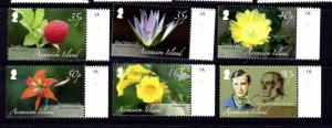 Ascension 975-80 MNH 2009 Botany
