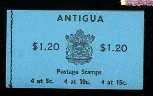 ANTIGUA 175A MINT BOOKLET FVF Cat $11