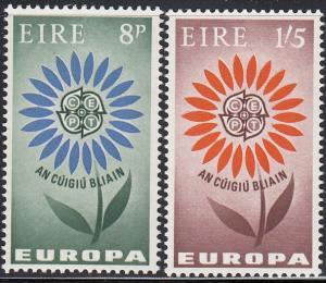 Ireland Scott #196-97 MNH Complete Set Europa/Cept 1964