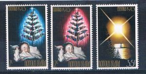 Norfolk Island 153-55 MNH set Christmas 1973 (N0644)