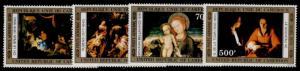 Cameroun C235-8 MNH Christmas, Art, Paintings