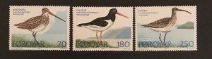 Faroe Islands 1977 #28-30, MNH, CV $1.45