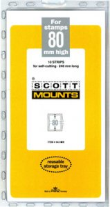 Scott Mount 80 x 240 mm  (Scott 943 Clear)