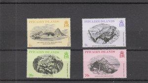 Pitcairn Islands  Scott#  184-187  MNH  (1979 Engravings)
