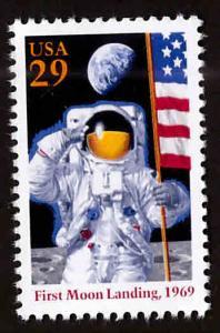 USA Scott 2841a 25th Anniversary of Moon Landing stamp