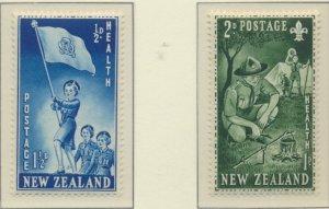 New Zealand Stamps Scott #B42 To B43, Mint Hinged - Free U.S. Shipping, Free ...