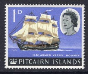 Pitcairn Islands 40 Sailing Ship MNH VF