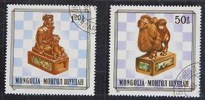 Mongolia, Art, №1174-Т