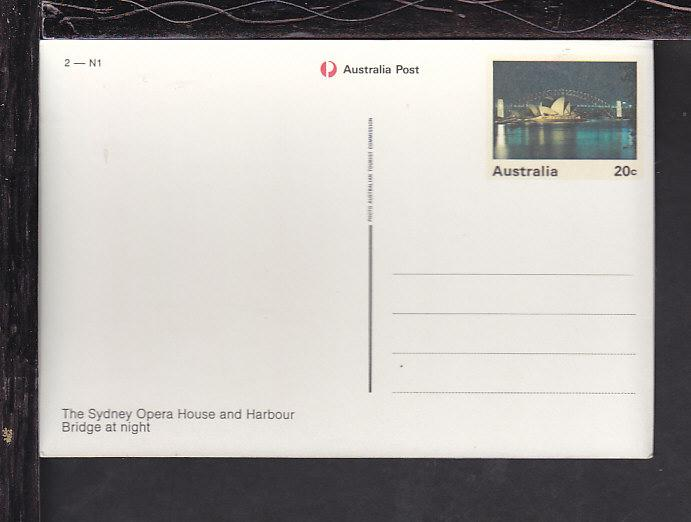 Australia Postal Card Unused