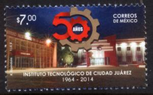MEXICO 2881 Technological Inst of Ciudad Juarez 50th Anniv. MINT, NH. VF.