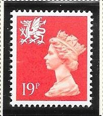Great Britain-Wales & Monmouthshire # WMMH36 (MNH) $0.85