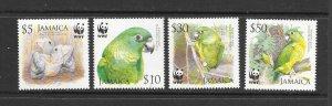 BIRDS - JAMAICA #1054-7  MNH