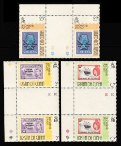 Tristan da Cunha Scott 260-262 Mint never hinged.