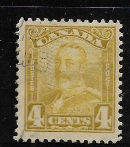 CANADA, 152, USED, KING GEORGE V