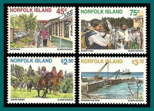 Norfolk Island 1996 Tourism, MNH  606-609,SG624-SG627