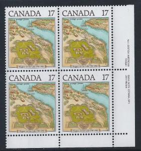 Canada #897 LR PL BL Niagara-On-The-Lake 17¢ MNH7