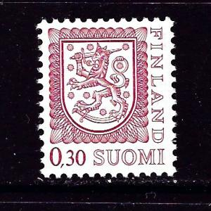 Finland 557 MNH 1977 issue