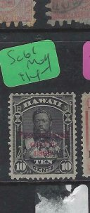 HAWAII  (P0705B)  10C   SC 61   MOG