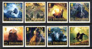 Isle of Man 1013-1020 Lord of the Rings MNH VF