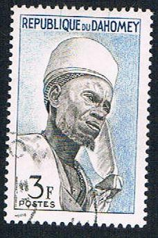 Dahomey 161 Used Witch Doctor (BP1017)