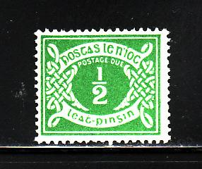 Ireland J1 MH Numeral, Postage  (A)
