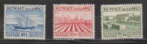 KUWAIT Scott # 146-8 MH