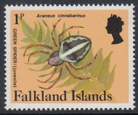 Falkland Islands - 1984 Insects and Spiders (1p) (MNH)