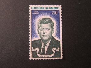 Dahomey 1973 Sc C191 John F Kennedy set MNH
