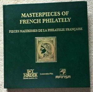 Auction Catalogue PIECES MAITRESSES DE LA PHILATELIE FRANÇAISE Classic FRANCE