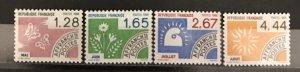 France 1985 #1957-60, MNH, CV $5.40